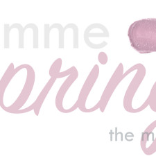 Gimme Spring:  Lemme Get You In The Mood For Spring!  Benecos, Ilia Beauty, Kjaer Weis + RMS Beauty.