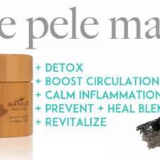 Mahalo's Pele Mask Gives The Skin A Total Restart, Like You Just Had A Facial!