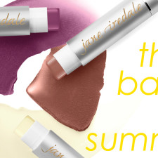 New Summer Balms Are Here:  Jane Iredale's New LipDrinks SPF 15!