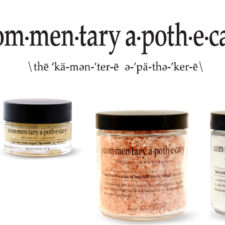 Vegan, Fun and Pure!  Bath + Beauty From The Commentary Apothecary + A Deal!
