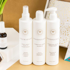 BYE, DRY!  It's Shiny, Soft Hair in March's Beauty Heroes Box With Innersense Organic Beauty