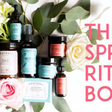 Apoterra Skincare's Spring Ritual Self Care Kit + You Get 15% Off + A FREE Herb Bundle With Purchase!