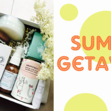 SOLD OUT.  The Limited Edition Summer Getaway Box From Integrity Botanicals!