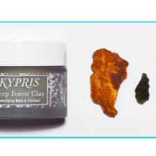Well, Hello Kypris!  Deep Forest Clay Mask + Pot of Shade: Heliotropic