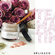 TEA TIME in New York!  Sélia & Co. Handcrafts Vegan Tea + Clay Masks!