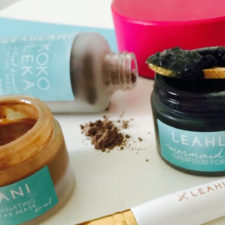The Masks of Leahlani Skincare!
